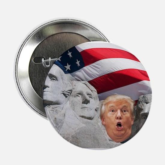 "Mount Trumpmore - Trump 2.25"" Button (10 pack)"