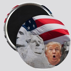 Mount Trumpmore - Trump Magnets