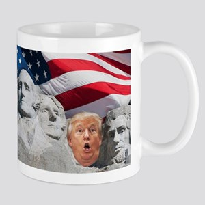 Mount Trumpmore - Trump Mugs