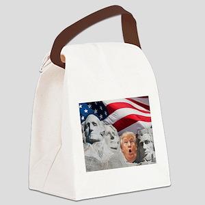 Mount Trumpmore - Trump Canvas Lunch Bag