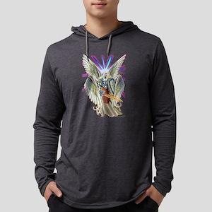 cherub angel Mens Hooded Shirt