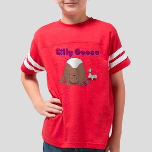 Silly Goose Baby Dark Skin Youth Football Shirt