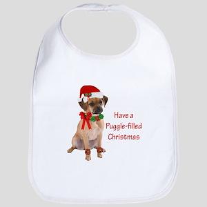 Christmas Puggle Bib