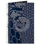 Sashiko-style Embroidery Journal