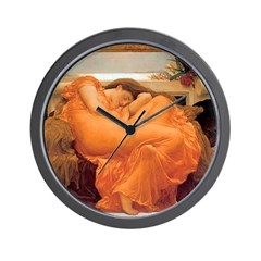 Flaming June-Full Size Wall Clock
