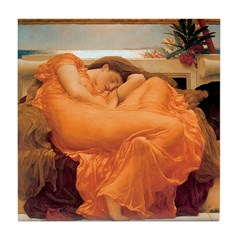 Flaming June-Full Size Tile Coaster