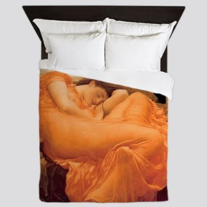 Flaming June - Queen Duvet