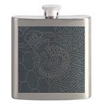 Sashiko-style Embroidery Flask