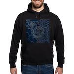 Sashiko-style Embroidery Hoodie (dark)