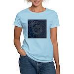 Sashiko-style Embroidery Women's Light T-Shirt