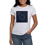 Sashiko-style Embroidery Women's T-Shirt