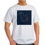 Sashiko-style Embroidery Light T-Shirt