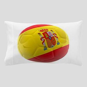Spain world cup soccer ball Pillow Case