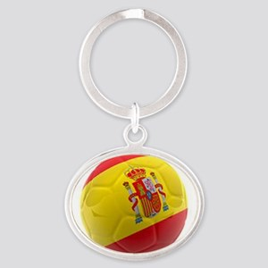 Spain world cup soccer ball Keychains