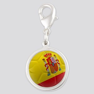 Spain world cup soccer ball Charms
