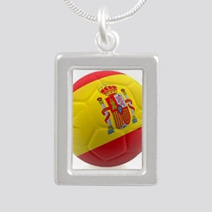 Spain world cup soccer ball Necklaces