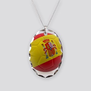 Spain world cup soccer ball Necklace