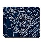 Sashiko-style Embroidery Mousepad
