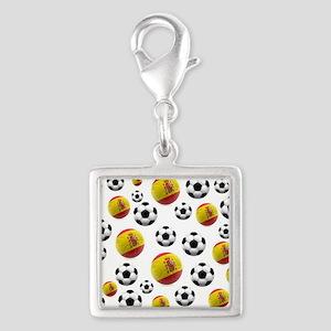 Spain Soccer Balls Charms