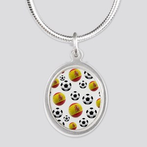 Spain Soccer Balls Necklaces