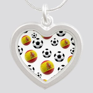 Spain Soccer Balls Necklaces