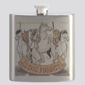 Canine Chivalry Flask