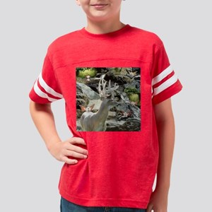 Wht Tee Buck-faries Waterfall Youth Football Shirt