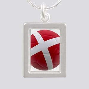 Denmark world cup ball Necklaces