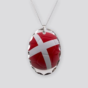 Denmark world cup ball Necklace