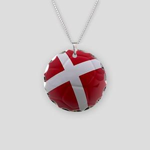 Denmark world cup ball Necklace