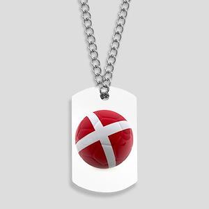 Denmark world cup ball Dog Tags