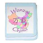 Wanzai China baby blanket