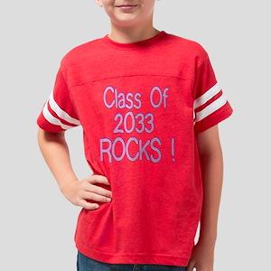 2033pinktrans Youth Football Shirt