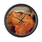 Flaming June-Full Size Large Wall Clock