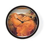 Flaming June-Full Size Wall Clock