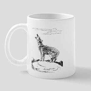 Coyote Howling Mug
