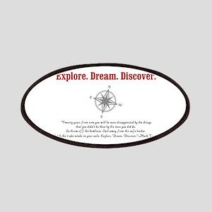 Explore. Dream. Discover. Patches