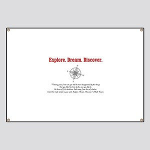 Explore. Dream. Discover. Banner
