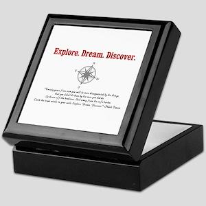 Explore. Dream. Discover. Keepsake Box