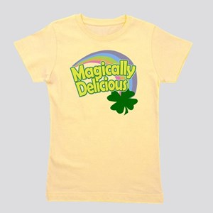 Magically Delicious Pastel Rainbow Girl's Tee