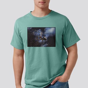Gyrocopter in Space Mens Comfort Colors Shirt
