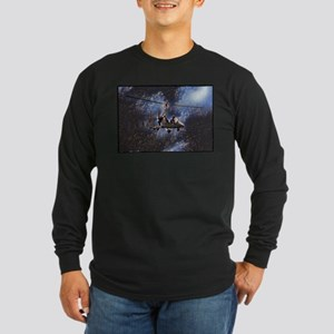 Gyrocopter in Space Long Sleeve T-Shirt