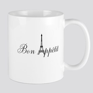 Bon Appetit Paris French Eiffel Tower Mug