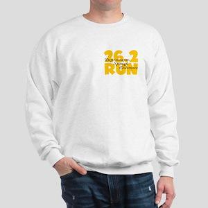 26.2 Run Yellow Sweatshirt