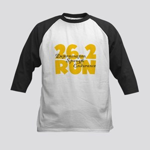 26.2 Run Yellow Kids Baseball Jersey