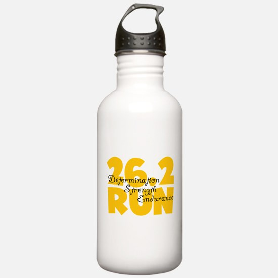 26.2 Run Yellow Water Bottle