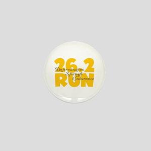 26.2 Run Yellow Mini Button
