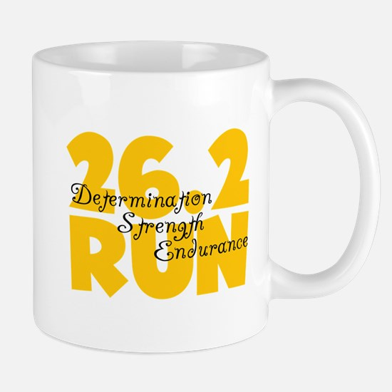26.2 Run Yellow Mug