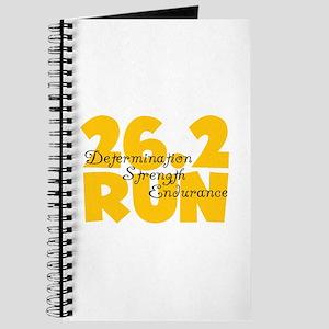 26.2 Run Yellow Journal