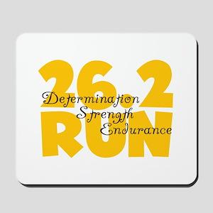 26.2 Run Yellow Mousepad